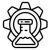 Scientific research icon