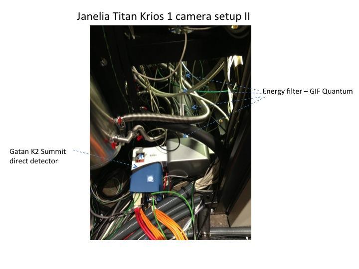 Janelia Titan Krios 1 camera setup II