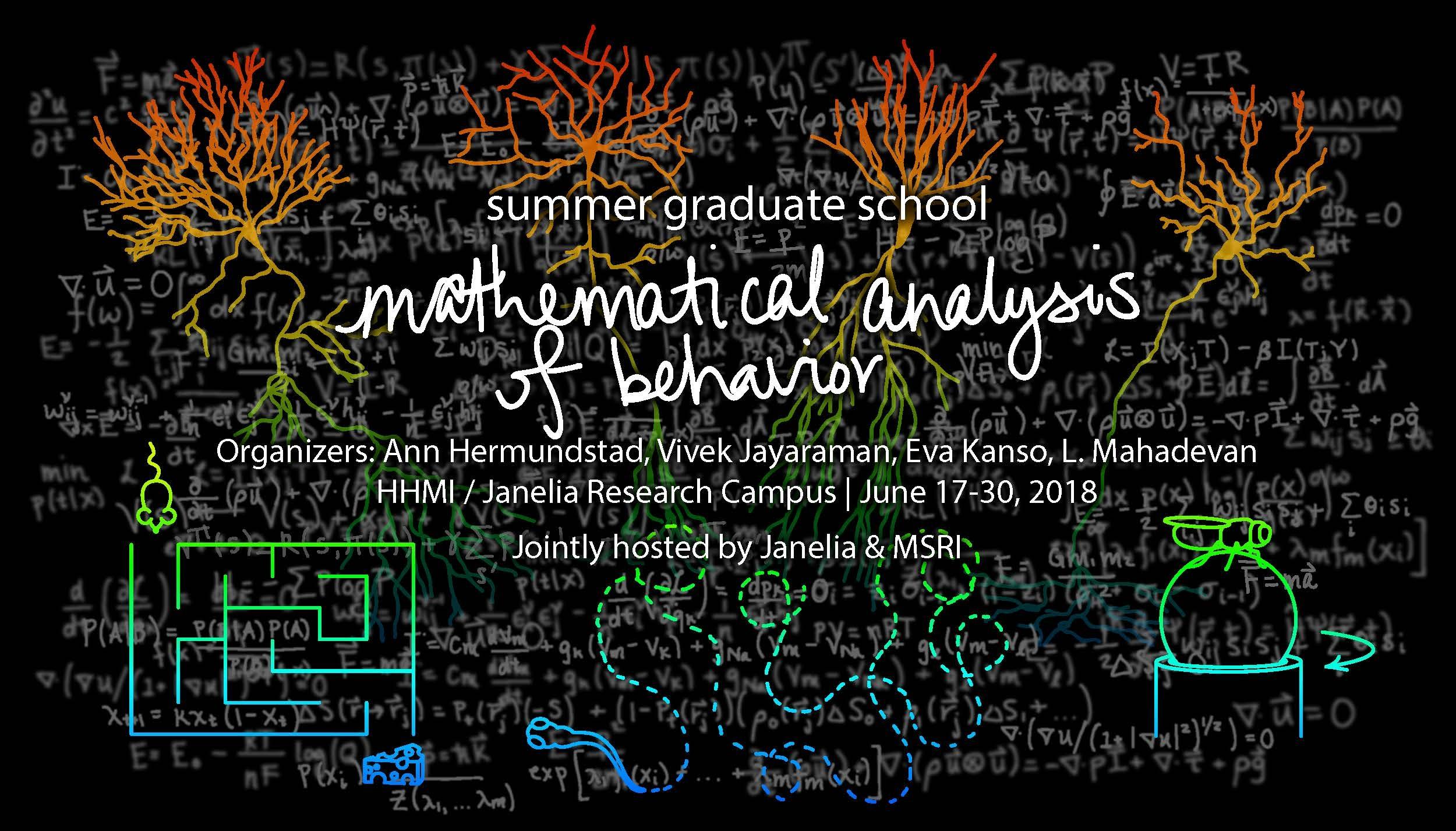 Summer Graduate School on Mathematical Analysis of Behavior